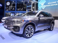 Soi kỹ SUV Volkswagen Touareg tại Triển lãm VMS 2019