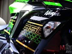 Mục sở thị ngoại hình của Kawasaki Ninja 650 2020 tại Tokyo Motor Show 2019