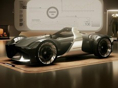 Toyota e-Racer - Mẫu concept cho thấy xe thể thao tương lai sẽ ra sao
