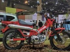 Honda CT125 Concept chính thức ra mắt tại triển lãm Tokyo Motor Show 2019