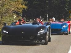 Đuổi bắt cặp đôi Ferrari Monza SP2 gần 4 triệu đô la, chiếc xe chở theo nhiếp ảnh gia mới gây tò mò
