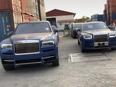 Sự thật hình ảnh Rolls-Royce Phantom VIII và Rolls-Royce Cullinan mang màu xanh được cho cập bến Việt Nam