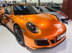 Tạm chia tay màu sơn giá 68 triệu đồng, Porsche 911 Targa 4 GTS độc nhất Việt Nam diện áo mới