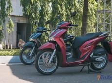 Doanh số xe máy Honda sụt giảm mạnh trong tháng 10