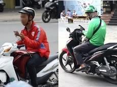 """TP. Hồ Chí Minh: Lực lượng CSGT ra quân xử lý xe ôm công nghệ """"dán mắt vào điện thoại"""" từ 15/11"""