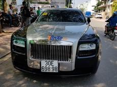 Cận cảnh Rolls-Royce Ghost cùng dàn xe biển siêu đẹp tại buổi rước dâu của Bảo Thy