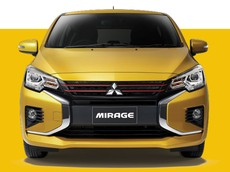 Mitsubishi Mirage 2020 chính thức được vén màn, thiết kế đầu xe giống Xpander, giá từ 363 triệu đồng