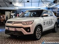 Ssangyong Tivoli 2020 ra mắt với trang bị động cơ máy dầu hoàn toàn mới
