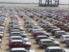 Lượng ô tô nhập khẩu về Việt Nam trong tháng 10/2019 đạt kỷ lục gần 17.000 xe