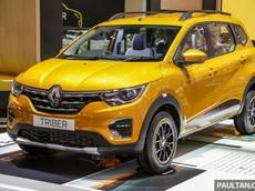 MPV 7 chỗ Renault Triber 2019 chính thức được bày bán tại Đông Nam Á, giá chỉ từ 218 triệu đồng