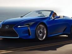 Diện kiến xe thể thao mui trần Lexus LC 500 Convertible hoàn toàn mới