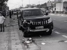Hà Tĩnh: Toyota Land Cruiser Prado tông liên hoàn 2 xe máy, 1 người tử vong