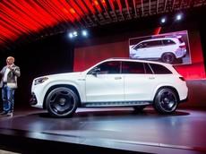 SUV hạng sang Mercedes-AMG GLS 63 2021 chính thức trình làng với lazăng cực đẹp
