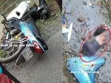 Yên Bái: Xe máy tông phải hòn đá, 2 người bị hất xuống rãnh nước, một nạn nhân đứt lìa bàn tay