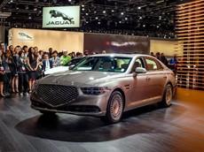 Sedan hạng sang Genesis G90 2020 lộ diện với thiết kế và sức mạnh mới