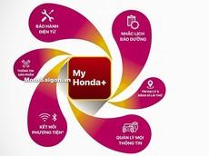 Ứng dụng My Honda+ của Honda Việt Nam vừa đưa vào sử dụng có chức năng gì?