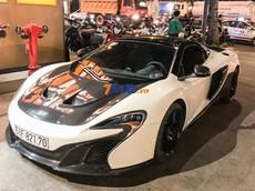 """McLaren 650S Spider của chồng Diệp Lâm Anh hội ngộ cùng dàn siêu xe của bạn bè Cường """"Đô-la"""""""