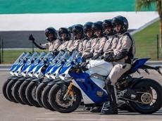 """Cảnh sát Abu Dhabi """"tậu"""" nguyên dàn siêu mô tô Ducati Panigale V4 R để làm xe tuần tra"""