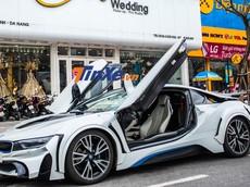 """""""Soái ca"""" Đà Nẵng chi trăm triệu đồng độ body kit cho BMW i8"""