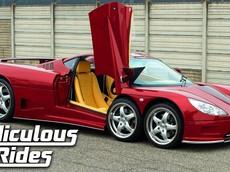 Covini 6SW - Siêu xe 6 bánh với giá 640.000 USD mà hiếm ai biết đến
