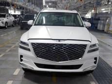 SUV hạng sang Genesis GV80 2020 của Hàn Quốc tiếp tục lộ diện, sẵn sàng đối đầu BMW X5