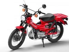 Concept Honda CT125 với kiểu dáng đa dụng chuẩn bị sẵn sàng cho sản xuất thương mại