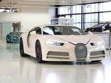 """Diện kiến siêu xe Bugatti Chiron đặc biệt của """"ông trùm"""" nhà đất, được tạo ra với sự giúp đỡ của Hermes"""