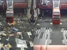 """Kinh ngạc với hình ảnh nội thất """"bẩn như bãi rác"""" trước và sau của một chiếc xe GMC"""