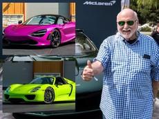 """Đại gia ngành chăn đệm """"thanh lý"""" bộ 3 siêu xe độc đáo, có cả McLaren Senna còn rất mới"""