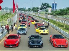 Dàn Ferrari nổi bật của giới nhà giàu Indonesia, có cả LaFerrari mà đại gia Việt rất thèm