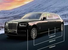 Diện kiến Rolls-Royce Phantom Limo dài hơn 7 mét, bọc giáp chống đạn có giá gần 77 tỷ đồng