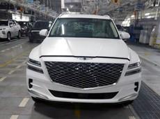 SUV hạng sang Genesis GV80 2020 - đối thủ của BMW X5 - lộ giá bán hấp dẫn
