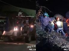 """An Giang: Máy cày chở 11 người """"đi bão"""" mừng U22 Việt Nam vô địch Sea Games bị lật, 1 người tử vong"""