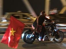 """Mang xe phân khối lớn nẹt pô """"đi bão"""" chúc mừng chiến thắng của U22 Việt Nam: Ăn mừng hay """"trẻ trâu""""?"""