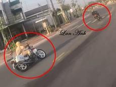 Video: Cảnh sát truy đuổi thanh niên chạy Yamaha Exciter 150 ở Bình Dương