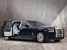 """Diện kiến Rolls-Royce Phantom """"Hoa Hồng"""" với 1 triệu mũi thêu cực kỳ công"""