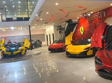 Không phải Dubai hay London, garage toàn siêu xe này ở Sài thành, khai trương vào cuối tuần này
