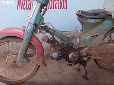 """Mãn nhãn với quá trình hồi sinh Honda Super Cub C50 40 năm tuổi thành xe """"đập thùng"""""""