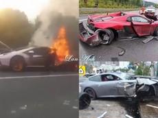 """Video những vụ mượn siêu xe của bạn để chạy nhưng gây tai nạn kinh hoàng """"hot"""" nhất năm 2019"""