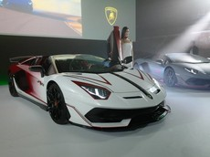 "Lamborghini Aventador SVJ Roadster ""Kabuki"" có một không hai của đại gia Nhật Bản"