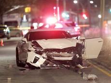 Cảnh sát cầm lái siêu xe Nissan GT-R tông Mazda6 khiến 1 cô gái tử vong