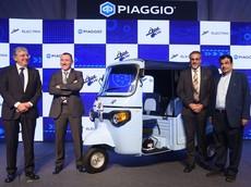 Piaggio ra mắt xe máy điện mới nhất, không phải Vespa Elettrica mà là... tuk-tuk điện