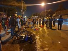 Bình Dương: Nam thanh niên điều khiển Yamaha Exciter tử vong trong vụ tai nạn liên hoàn lúc rạng sáng