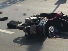 Đồng Nai: Thiếu úy công an bị xe container cán tử vong sau va chạm xe máy