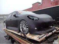 Đây là bộ dạng thảm hại của chiếc xe điện Nga muốn nhái theo Tesla