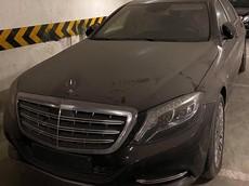 """Hà Nội: Mercedes-Maybach S600 hơn 12 tỷ đồng """"làm bạn"""" với bụi tại hầm đỗ xe"""