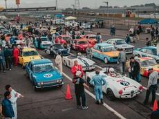 Ngắm nhìn sự kiện họp mặt xe đua cổ điển hàng năm tại Đường đua Tskubua, Nhật Bản