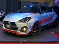 Suzuki Swift Sport Katana Edition 2020: Đậm chất thể thao, lấy cảm hứng thiết kế từ mô tô phân khối lớn