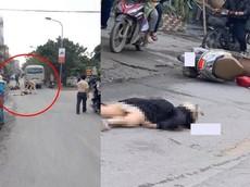 Hà Nội: Va chạm với xe khách, người phụ nữ chạy xe máy tử vong tại chỗ