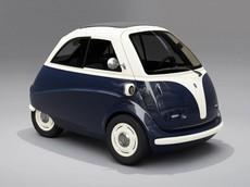 Chiếc xe điện tí hon này có thể chạy 90 km/h và di chuyển trên 190 km